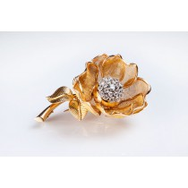 Roseflower brooch