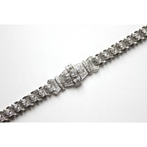 Art Deco bracelet detail